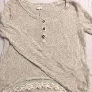 Hollister knit shirt